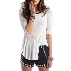 Free People Weekends Layering Top Shirt Tunic